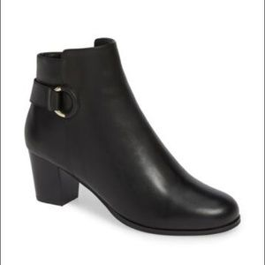 Cole Haan Black Leather Bailey Bootie Size 9B